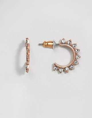 Pilgrim Gold Plated Drop Earrings
