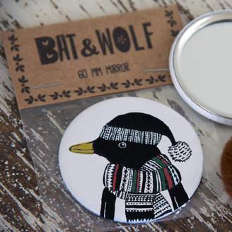 Original Penguin Bat & Wolf Festive Pocket Mirror