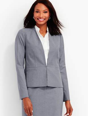 Summer Cotton Suiting Jacket $169 thestylecure.com