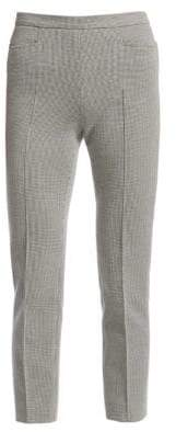 Akris Punto Franca Houndstooth Cropped Trousers