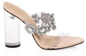Schutz Blanck Transparent Sandals