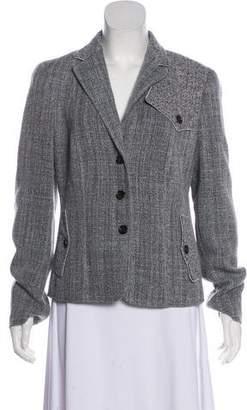 Rena Lange Lightweight Tweed Blazer