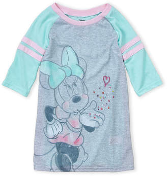 Minnie Mouse (Girls 7-16) Minnie Raglan Nightgown