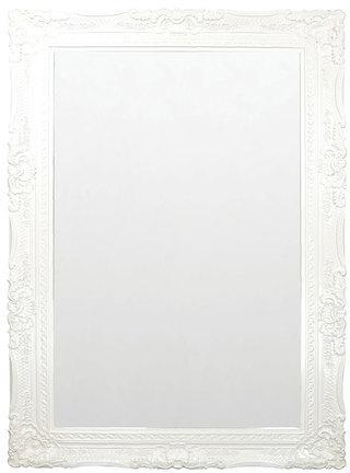 Fabulous & Baroque Grand Beau Wall Mirror White