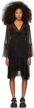 McQ Black Lace Dress