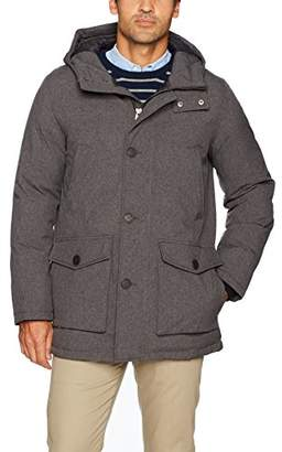 Dockers Lamb Touch Faux Leather Puffer Jacket
