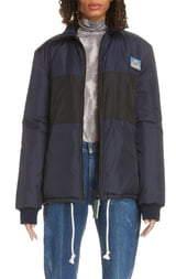 52f9886c2 Acne Studios Odgar Face Patch Nylon Jacket
