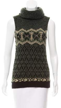Kenzo Sleeveless Turtleneck Sweater