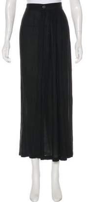 Ann Demeulemeester Slit Midi Skirt