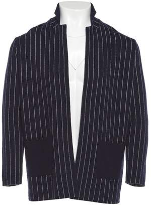 Henry Cotton Navy Wool Knitwear