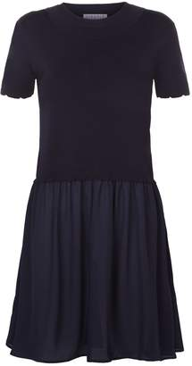 Claudie Pierlot Knit Top Dress