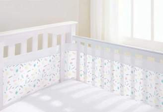 BreathableBaby Breathable Baby Mesh Airflow Cot Liner Marabou