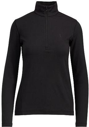 Polo Ralph Lauren Jersey Half-Zip Pullover $98.50 thestylecure.com
