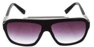 Morgenthal Frederics Gradient Aviator Sunglasses