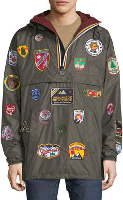 DSQUARED2 x K-Way Nylon Packable Jacket with Patches