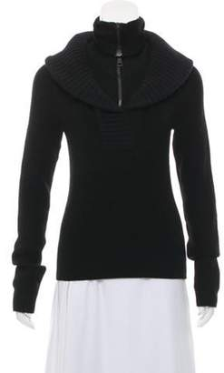 Balenciaga Wool Turtleneck Sweater Black Wool Turtleneck Sweater