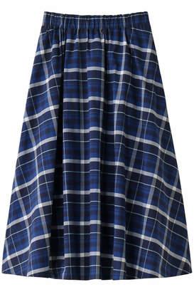 Heliopole (エリオポール) - エリオポール チェック ギャザーフレアースカート
