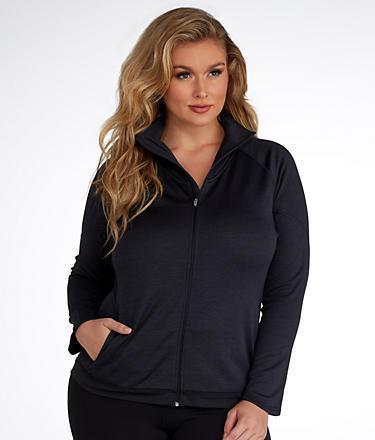Champion Tech Full Zip Fleece Plus Size
