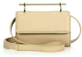 M2Malletier Mini Fabricca Leather Crossbody Bag