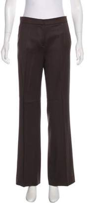 Oscar de la Renta Wide-Leg Wool Pants