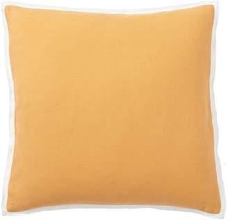 Pottery Barn Belgian Linen Contrast Pillow Cover