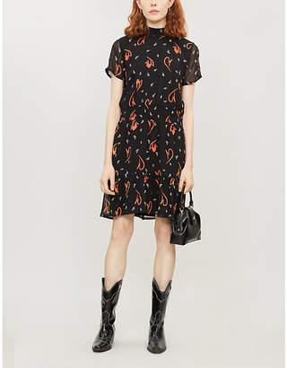 Gestuz Delana floral-print crepe dress