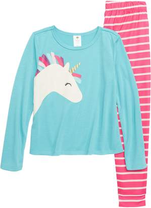 Tucker + Tate Unicorn Fitted Two-Piece Pajamas