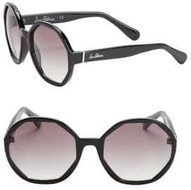 Sam Edelman 57MM Hexagon Sunglasses