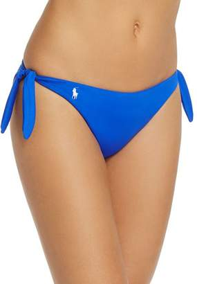 Ralph Lauren Side Tie Hipster Bikini Bottom