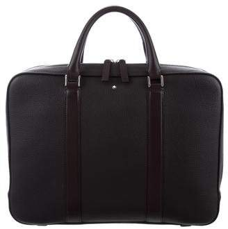 Montblanc Grained Leather Briefcase