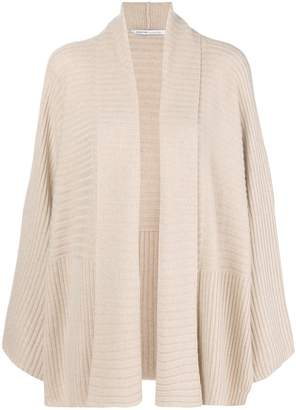 Agnona wide sleeve open front cardigan