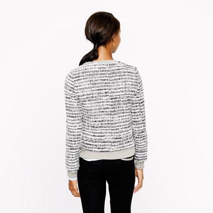 J.Crew Collection starlight tweed jacket
