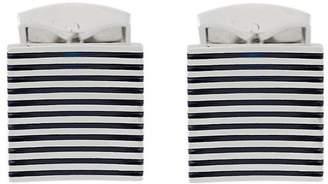 Tateossian Zen enamel cufflinks