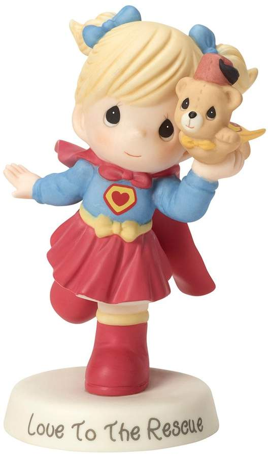"""Precious Moments """"Love To The Rescue"""" Girl Figurine"""