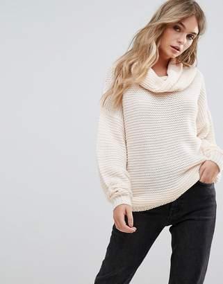 Brave Soul Hachi Oversize Chunky Sweater