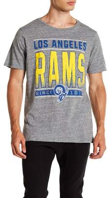 Junk Food Clothing NFL Los Angeles Rams Touchdown Tee