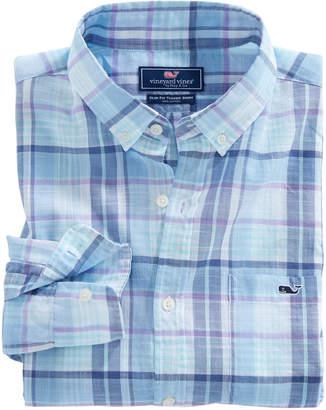 Vineyard Vines Pleasant Bay Plaid Classic Tucker Shirt