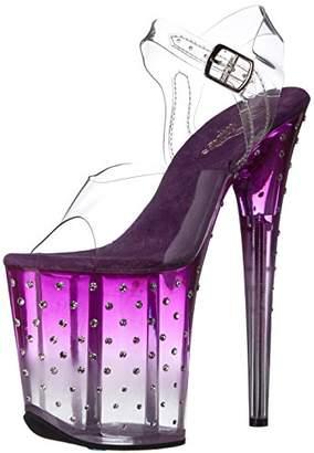 Pleaser USA Women's Stdus808t/C/PP-C Platform Dress Sandal