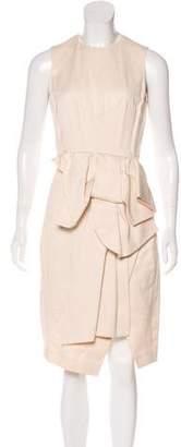 Sonia Rykiel Silk-Blend Midi Dress