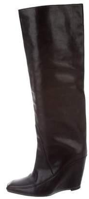 Alexander Wang Knee-High Wedge Boots