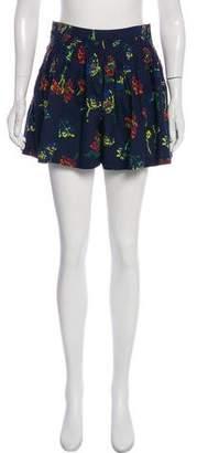 Ulla Johnson Martim High-Rise Shorts