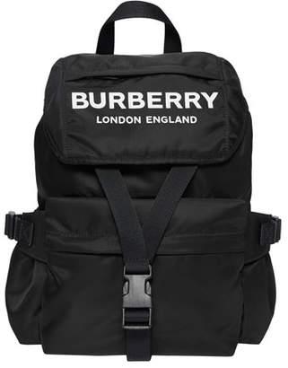 Burberry Wilfin Small Nylon Logo Backpack