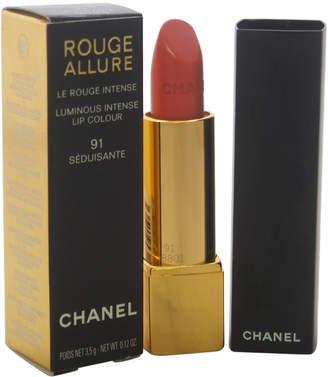 Chanel 0.12Oz #91 Seduisante Rouge Allure Luminous Intense Lip Colour