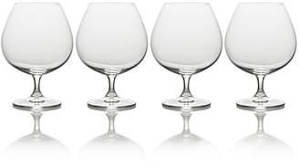 Mikasa Julie Four-Piece Stem Brandy Drinking Glass Set