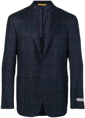 Canali plaid suit jacket