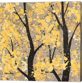 Helena Metaverse Autumn Theme by Alves Canvas Art