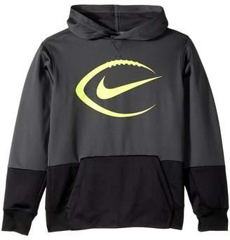 Nike KO Football Pullover Hoodie Boy's Sweatshirt