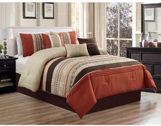 Luxlen Nilsen 7 Piece Comforter Set, Queen Bedding