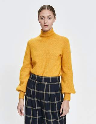 734ecbfc49f Just Female Theo Mohair Knit in Golden Yellow