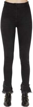 Philosophy di Lorenzo Serafini Skinny High Waist Flared Denim Jeans